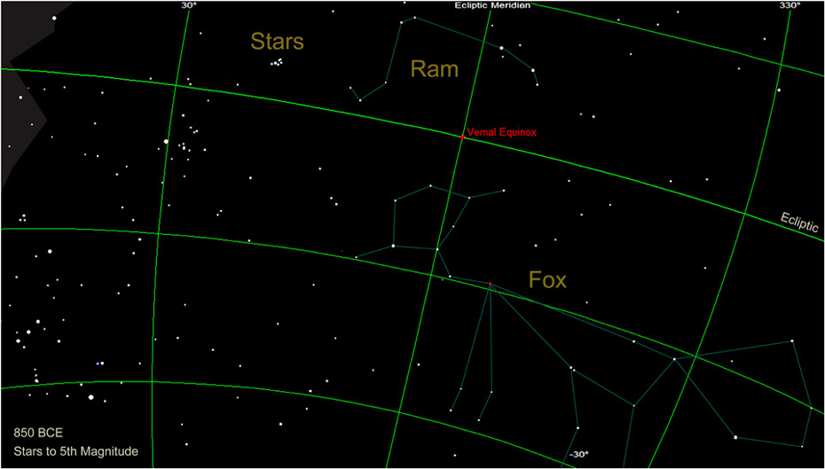 The Babylonian Fox Constellation